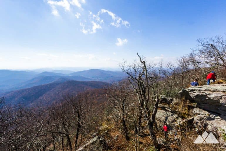 Vogel State Park: hiking the Coosa Backcountry Trail to Blood Mountain