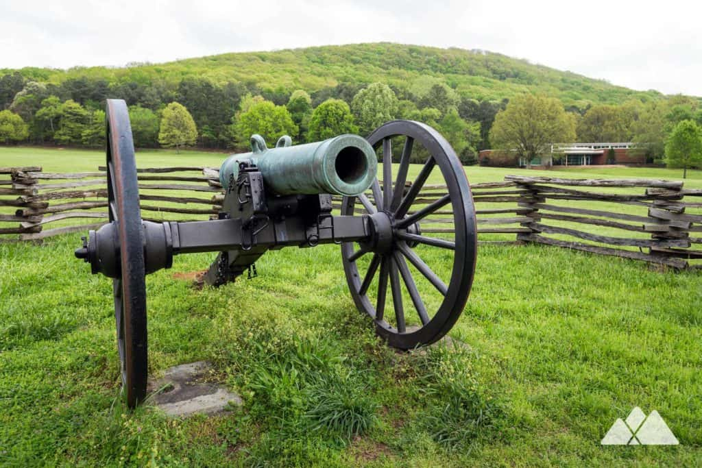 Hike or run the Kennesaw Mountain 24 Gun Trail through rolling forest to a fortified Union encampment just north of Atlanta, GA