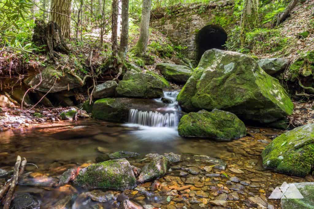Hike the Byron Reece Trail at Neels Gap in North Georgia
