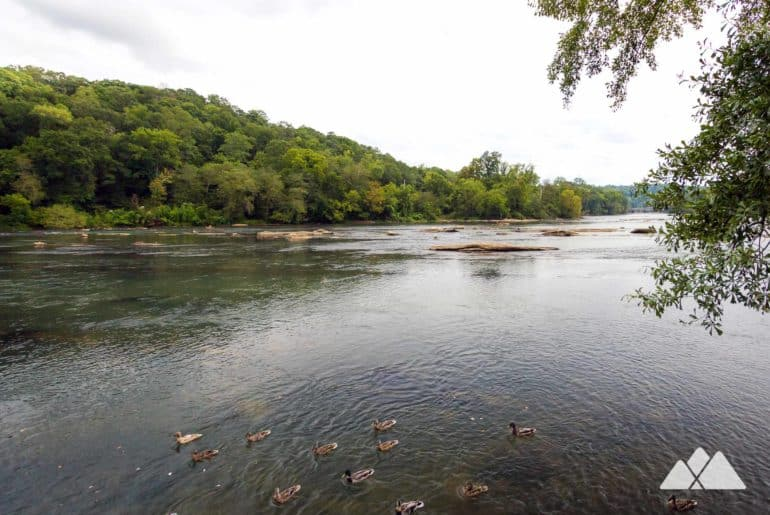 Island Ford Park on the Chattahoochee River
