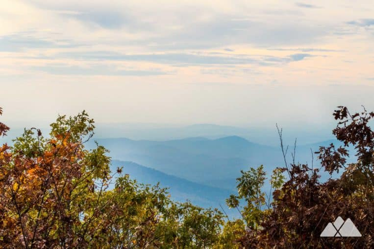 Springer Mountain: hike the Appalachian Trail to the Springer summit, the southern end of the AT in North Georgia