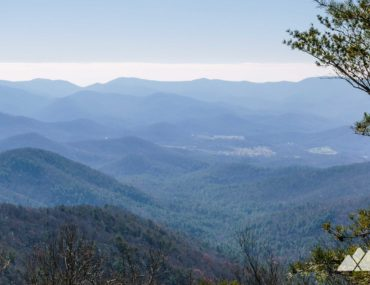 Arkaquah Trail: hiking Brasstown Bald to Track Rock Gap