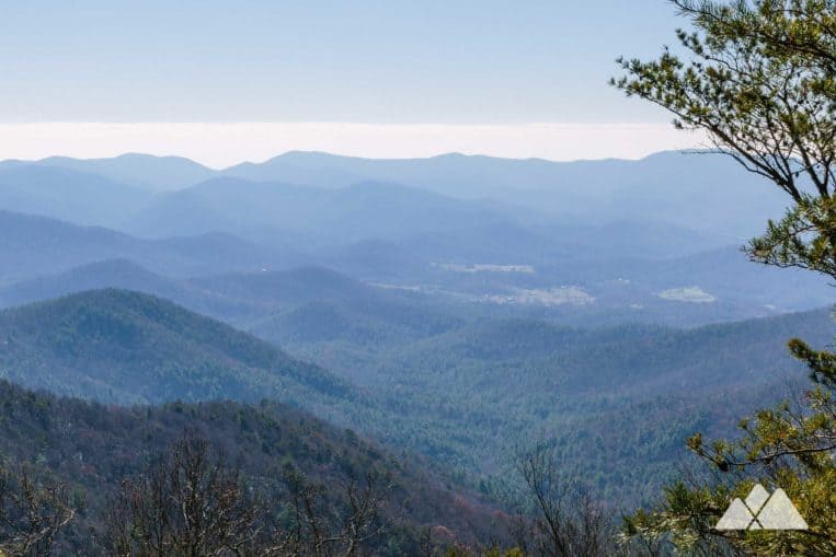 Hike the Arkaquah Trail from Brasstown Bald, Georgia's highest-elevation mountain summit