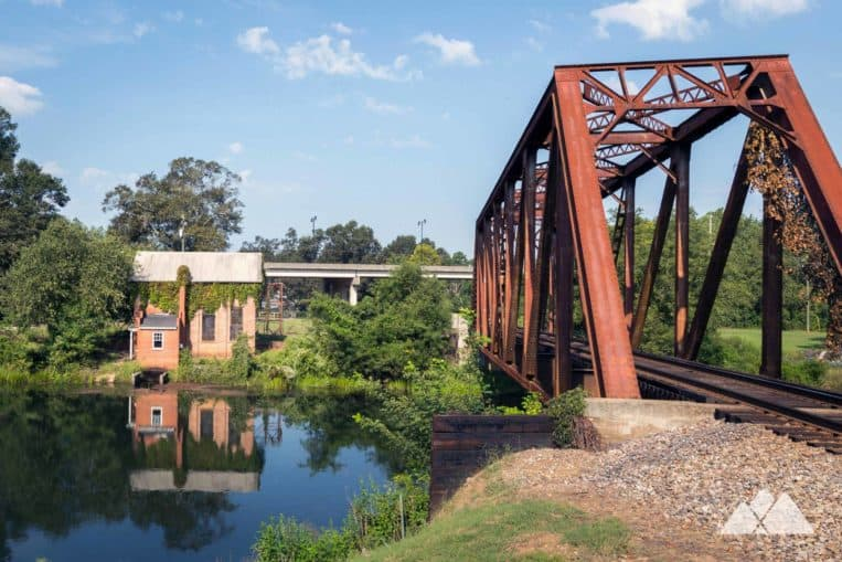 Augusta Canal: explore Augusta's history with a bike ride or run on the Towpath Trail