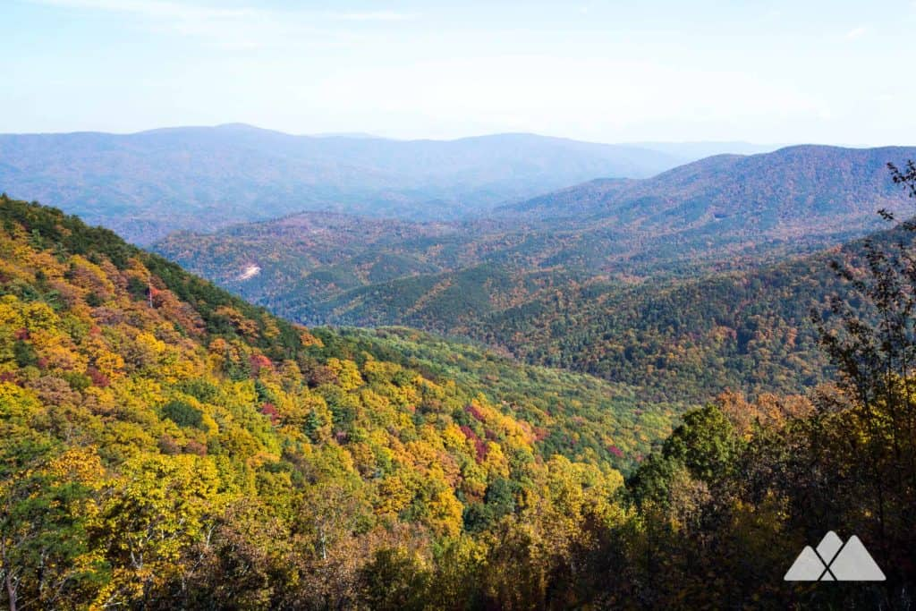 Backpack the Gahuti Trail in Georgia's Fort Mountain State Park to beautiful overlook views and several great campsites