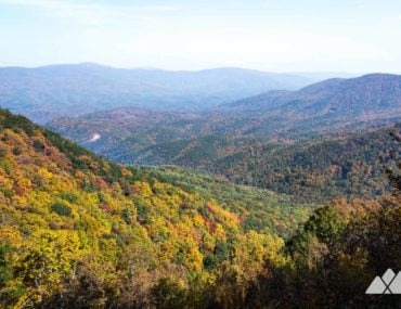 Gahuti Trail: hike Fort Mountain State Park to stunning overlook views and a tumbling waterfall in North Georgia