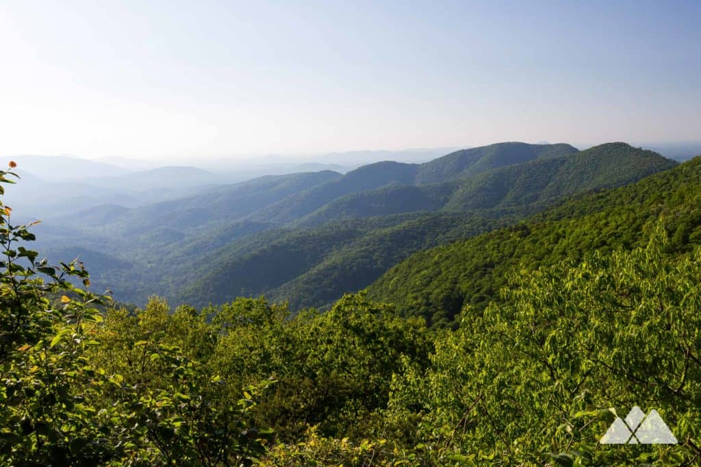 Hike the Appalachian Trail to stunning views from Preachers Rock and Woody Gap on a two-mile round trip adventure in North Georgia