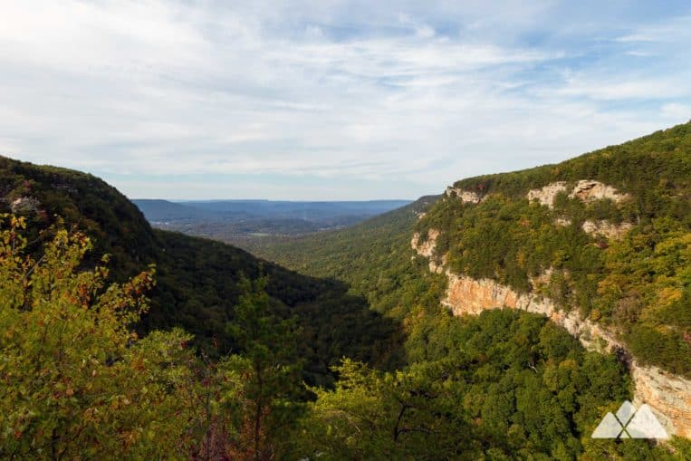 Hike the West Rim Loop Trail at Cloudland Canyon State Park to some seriously epic North Georgia views