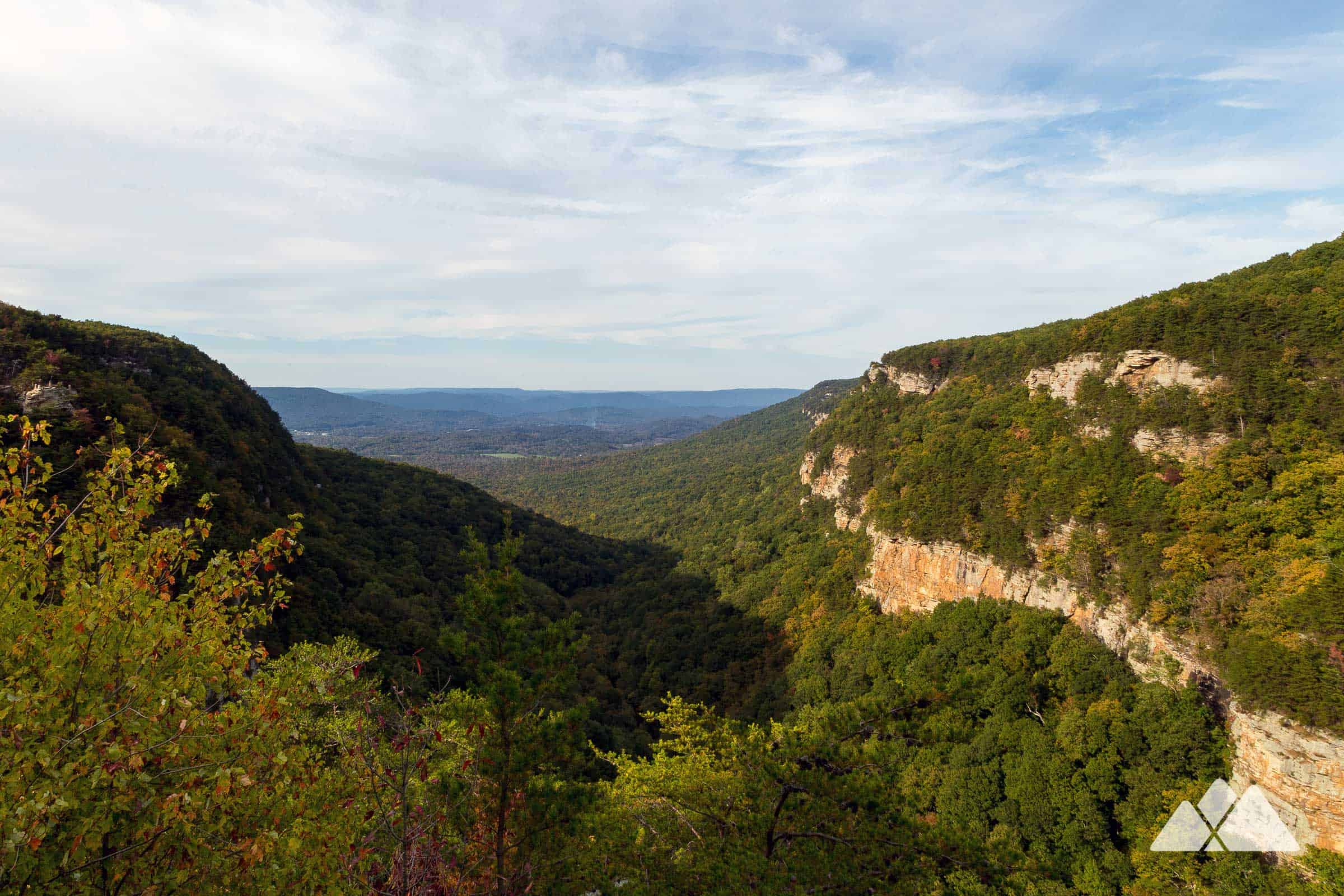 West Rim Loop Trail At Cloudland Canyon State Park