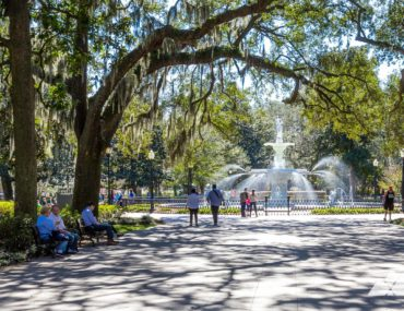 Forsyth Park: top Savannah running routes