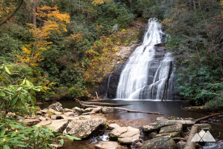 Helton Creek Falls: a kid-friendly double waterfall hike near Helen, Georgia
