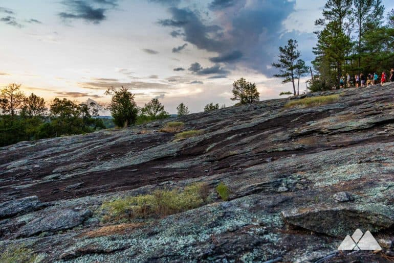 Panola Mountain State Park: hike a guided ranger-led twilight hike to the summit
