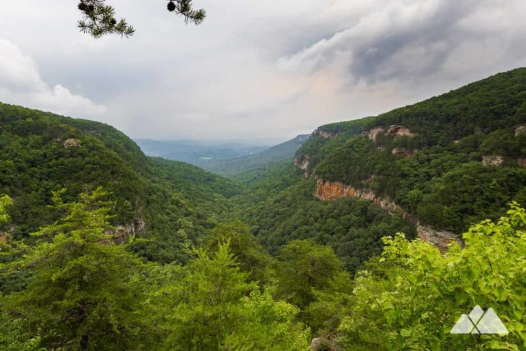 Cloudland Canyon State Park: hiking the Sitton's Gulch Trail