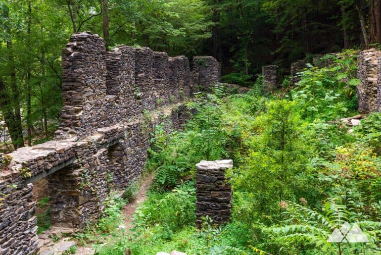 Sope Creek Park: hike to Civil War paper mill ruins and a tumbling Chattahoochee River tributary creek in Atlanta, GA