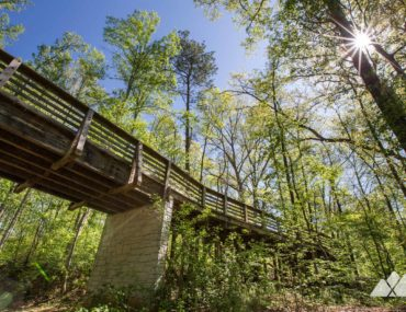 South Peachtree Creek Trail: running Mason Mill Park in Decatur, GA