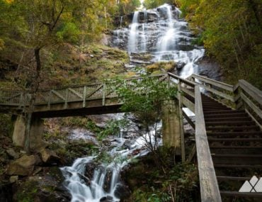 Amicalola Falls Trail: hiking to Georgia's tallest waterfall