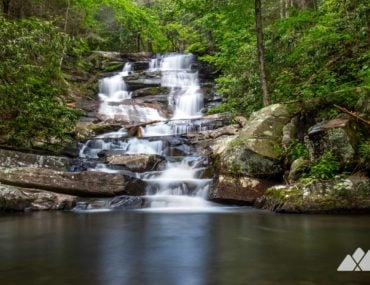 Emery Creek Falls: hiking to double North Georgia waterfalls on the Emery Creek Trail