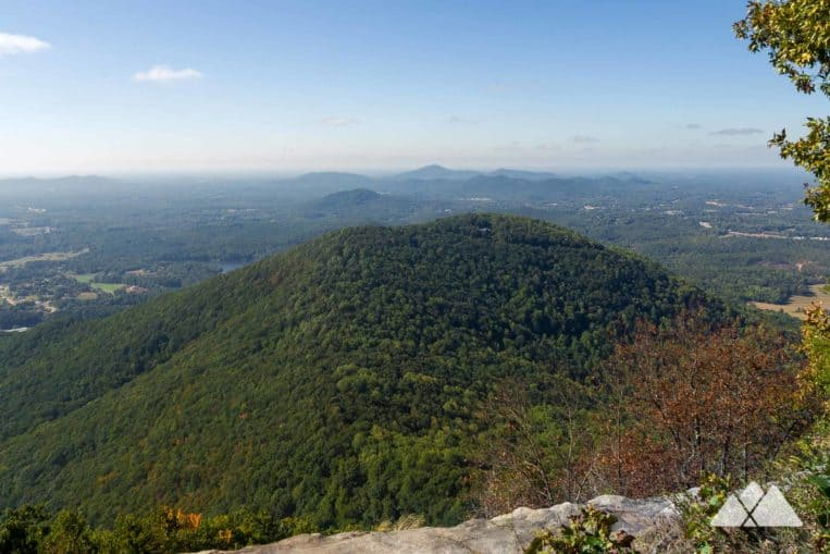 Yonah Mountain Trail: top summit hikes in North Georgia