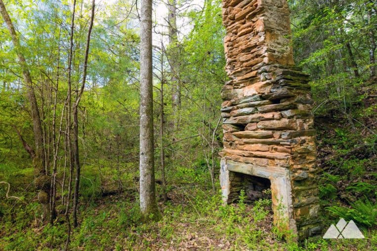Explore an old farmstead on the banks of the Chattooga River on the Bartram Trail in Georgia