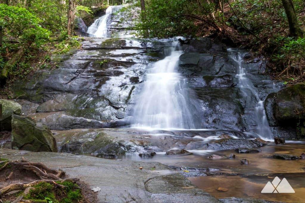 Fall Branch Falls: hiking the Benton MacKaye Trail near Blue Ridge, GA