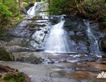 Fall Branch Falls: hiking the Benton MacKaye Trail near Blue Ridge, GA