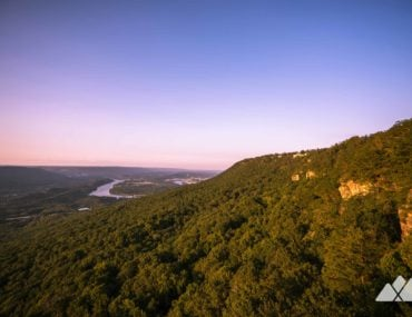 Lookout Mountain: hiking Point Park to Sunset Rock in Chattanooga, TN