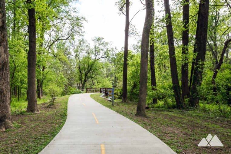 Top running trails in Atlanta: run a scenic mile at Tanyard Creek Park on the Northside BeltLine Trail