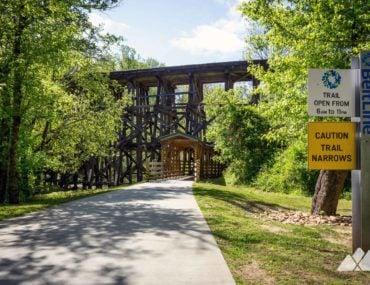 Tanyard Creek Park in Atlanta: running the Northside BeltLine Trail