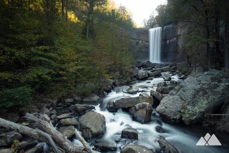 Hike the scenic trails at Lula Lake Land Trust to a beautiful lake and two exceptionally beautiful waterfalls in North Georgia