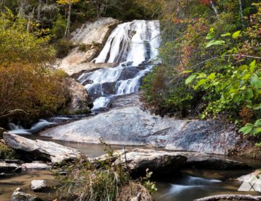 Dicks Creek Falls Trail in North Georgia