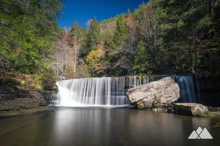 Hike to the beautiful Upper Greeter Falls in the Savage Gulf State Natural Area near Chattanooga, TN