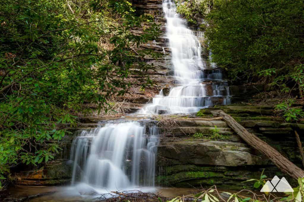 Angel Falls Trail at Lake Rabun