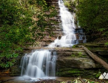 Angel Falls Trail at Lake Rabun
