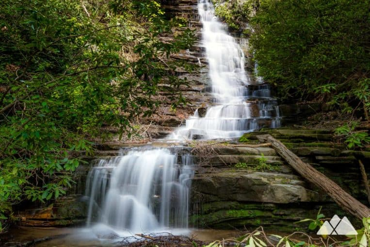 Angel Falls Trail: hiking at Lake Rabun Beach Campground