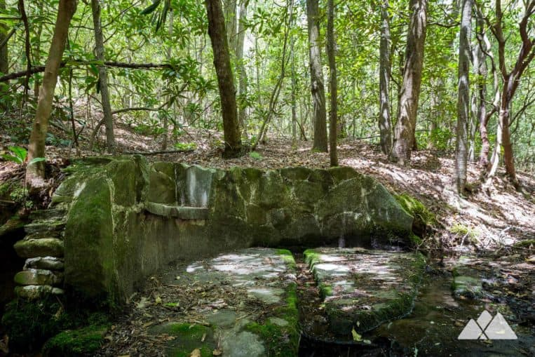 Angel Falls Trail: hike to a historic stone spring and two stunning waterfalls in North Gerogia