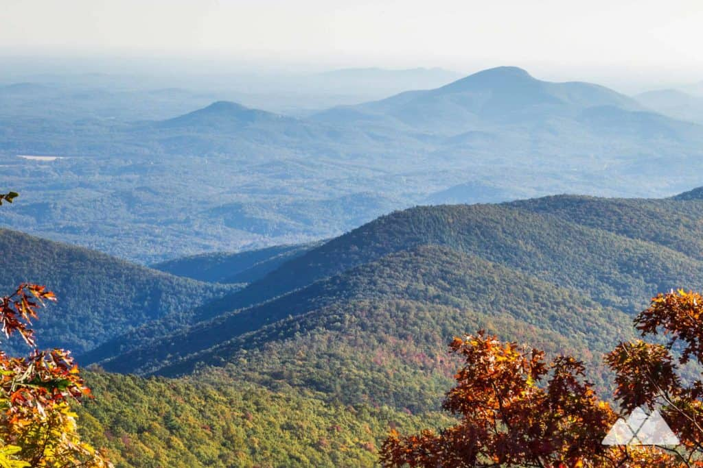 Tray Mountain: Appalachian Trail from Unicoi Gap