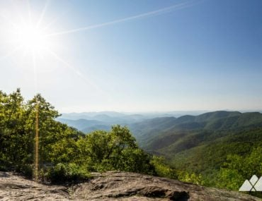 Woody Gap to Jarrard Gap on the Appalachian Trail