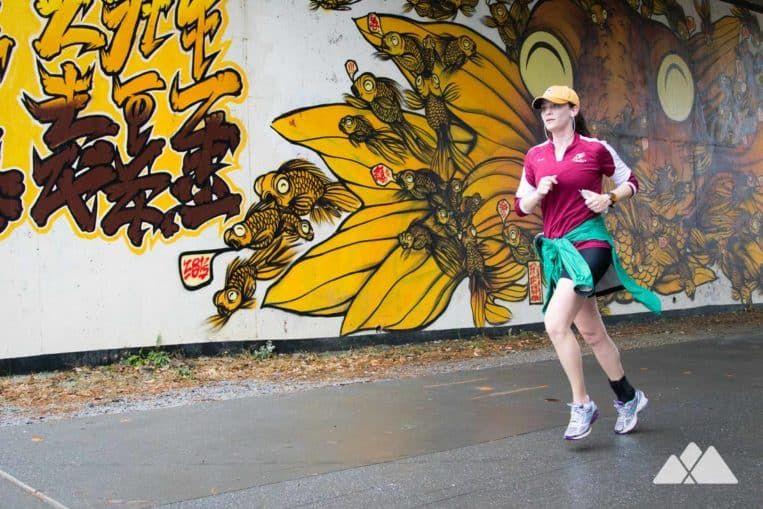 Atlanta Beltline: take a run on the on the popular, scenic and colorful Eastside Trail in Midtown