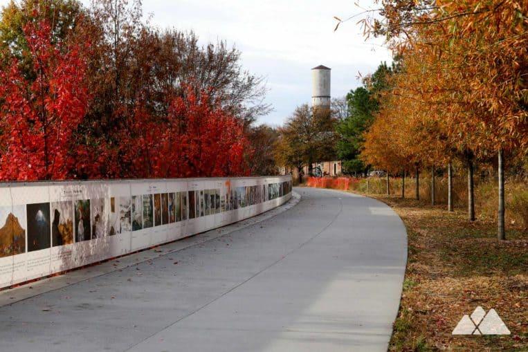 Atlanta Beltline Eastside Trail: top places to run in Atlanta
