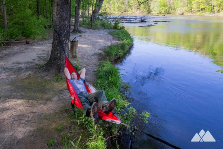 Great places to hammock near Atlanta, Georgia: Sweetwater Creek State Park