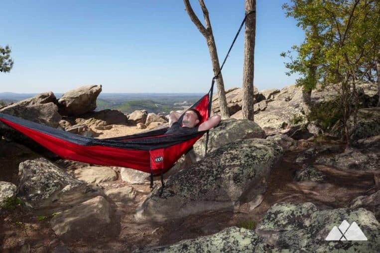 Our favorite spots to hang an ENO hammock: Pine Mountain Trail near Cartersville