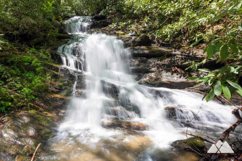Becky Branch Falls at Warwoman Dell