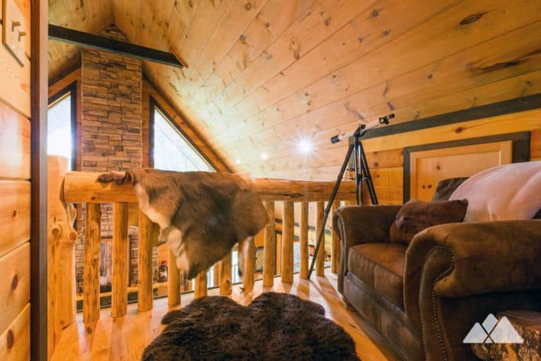Our favorite cabins near Blue Ridge, Georgia: Hawks Ridge from Southern Comfort Cabin Rentals