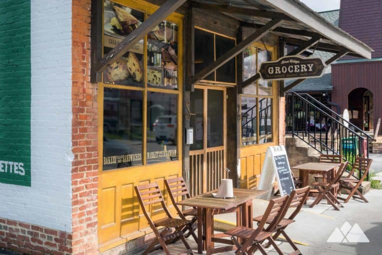 Our favorite places to eat in Blue Ridge, Georgia: enjoy delicious lunches and breakfasts at the Blue Ridge Grocery
