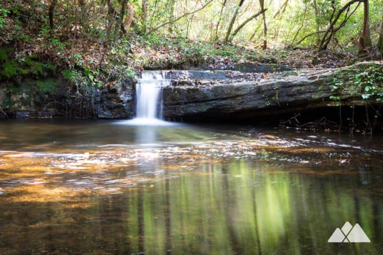 Cascade Falls: hike the Pine Mountain Trail to a beautiful series of waterfalls at FD Roosevelt State Park