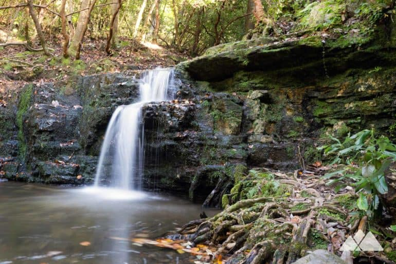Cascade Falls on the Pine Mountain Trail