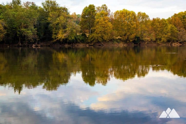 Chattahoochee Bend State Park: hike the Riverside and Bend Trails to beautiful river views