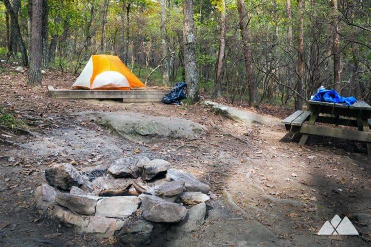 Cloudland Canyon State Park Camping