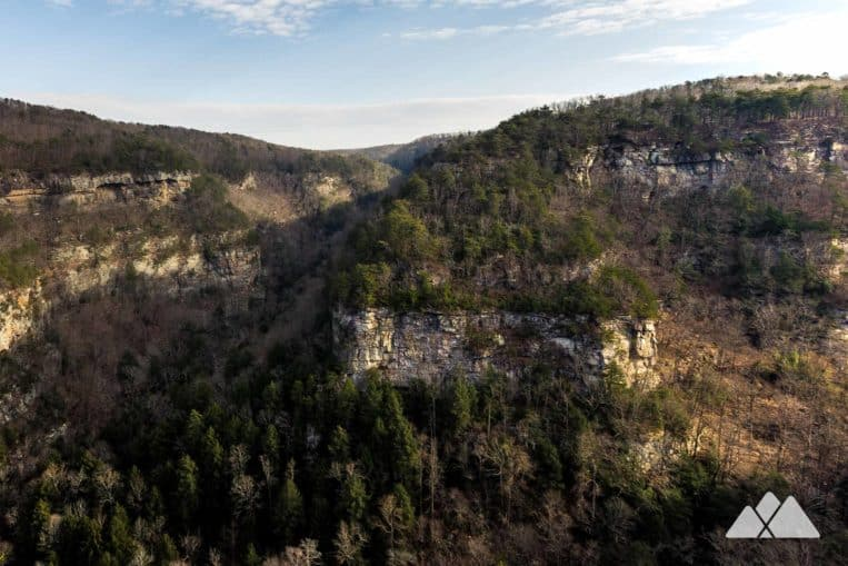 Cloudland Canyon Winter Hike