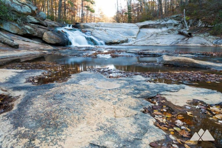 Henry Mill Falls: hike to a tumbling waterfall at Cochran Mill Park near Atlanta